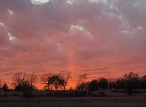 Lindsey sunset