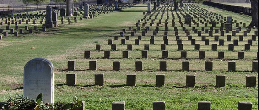 grave yard at Franklin TN